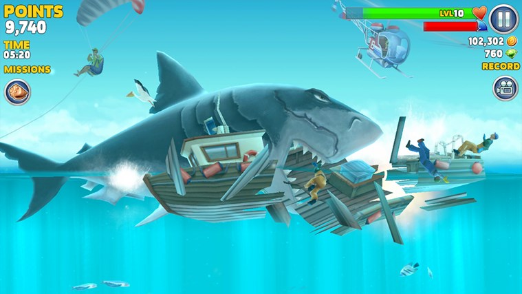 Hungry Shark Evolution screen shot 4