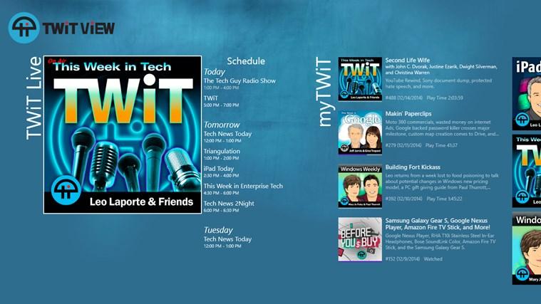 TWiT View screen shot 0