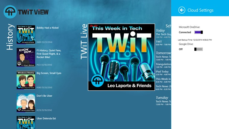 TWiT View screen shot 2