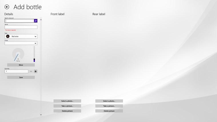 VisualCellar screen shot 6