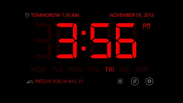 Music Alarm Clock screen shot 0