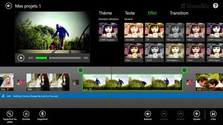 ArcSoft ShowBiz capture d'écran 2