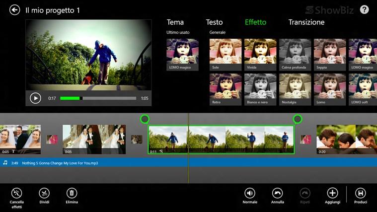 ArcSoft ShowBiz cattura di schermata 2