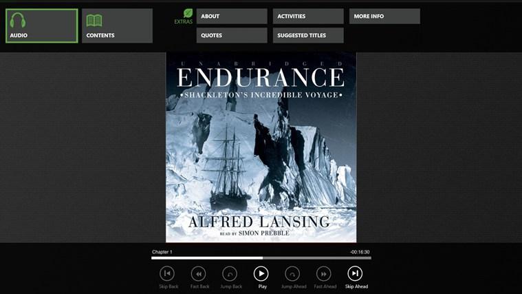 Endurance (Alfred Lansing) cattura di schermata 0