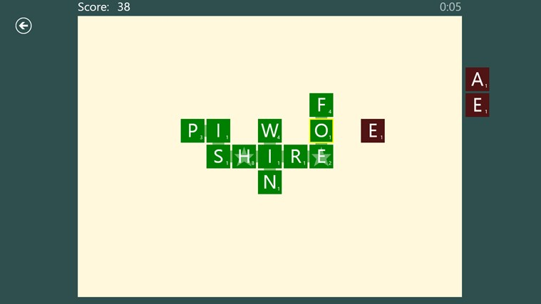 SpeedWords Windows 8 Game