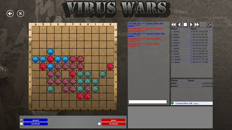 Virus Wars Online screen shot 0
