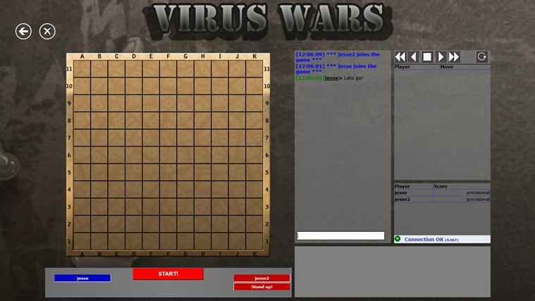 Virus Wars Online screen shot 2