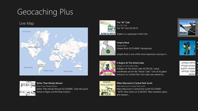 Geocaching Plus Beta screen shot 0
