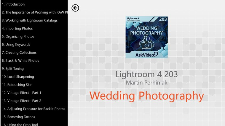Lightroom 4 - Wedding Photography screen shot 0