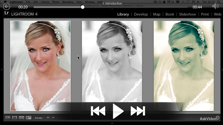 Lightroom 4 - Wedding Photography screen shot 2