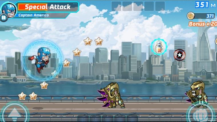 Marvel Run Jump Smash! screen shot 2