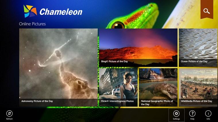 Chameleon screen shot 0