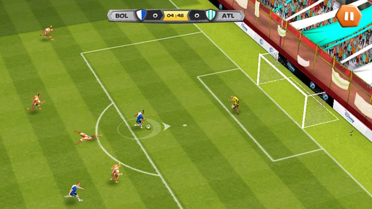 Disney Bola Soccer screen shot 0