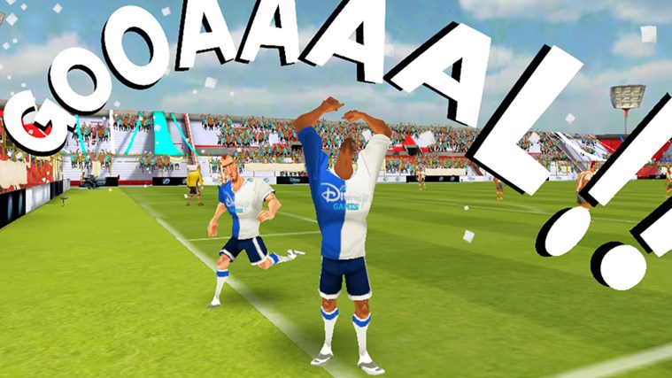 Disney Bola Soccer screen shot 2