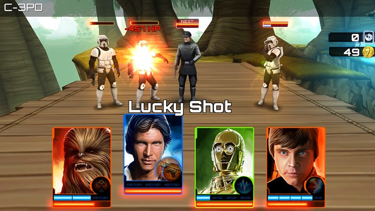 Star Wars: Assault Team screen shot 2