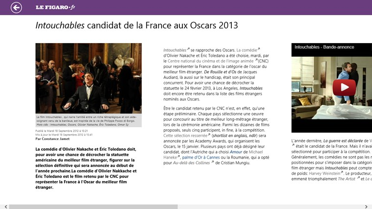Le Figaro.fr screen shot 4