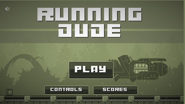 Running Dude for Win8 UI full screenshot