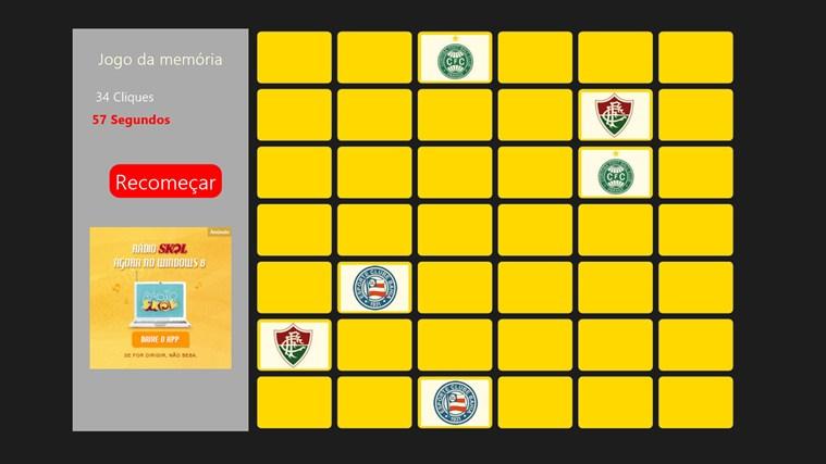 Jogo da Memória Times screen shot 0