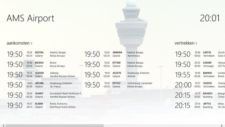 AMS Airport schermafbeelding 0