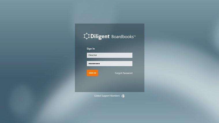 Diligent Boardbooks screen shot 0