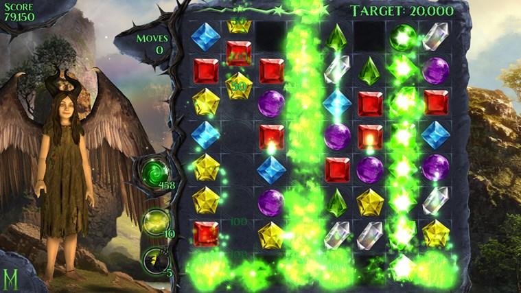 Maleficent Free Fall screen shot 2