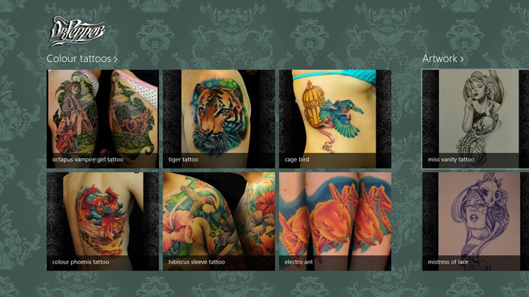 Doctor Pepper Tattoo screen shot 0