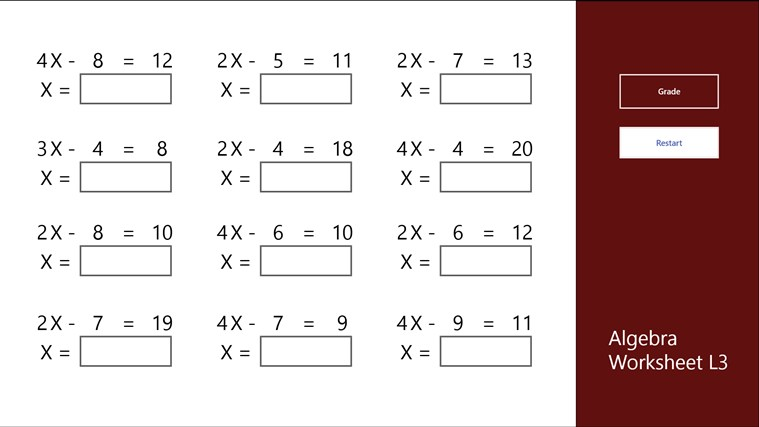Algebra Year 8 Testhtml Howszat Maths The Greatest Site In All – Maths Worksheets Grade 8