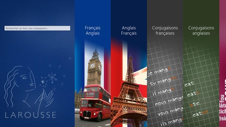 Dictionnaire français – anglais Larousse capture d'écran 0