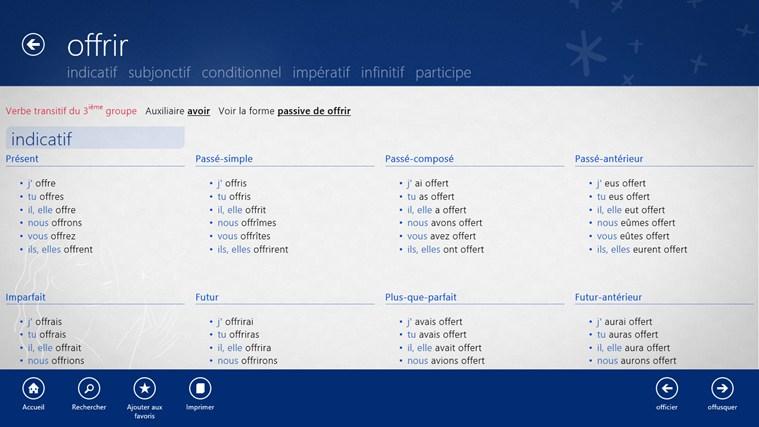 Dictionnaire français – anglais Larousse capture d'écran 4