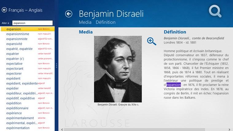 Dictionnaire français – anglais Larousse capture d'écran 6