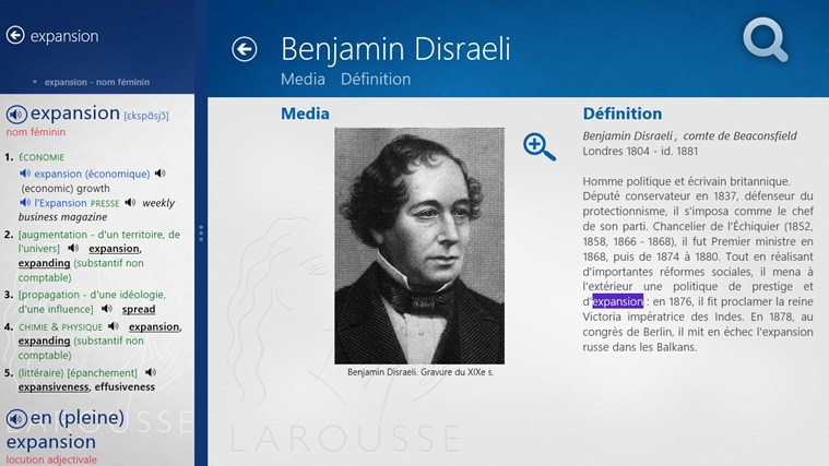 Dictionnaire français – anglais Larousse screen shot 6