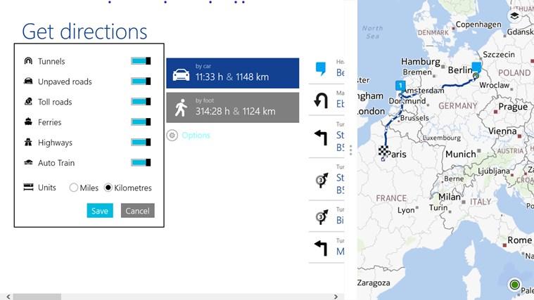 HERE Maps screen shot 6