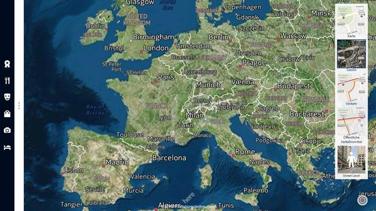 HERE Maps Screenshot 2