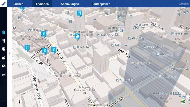 HERE Maps Screenshot 4