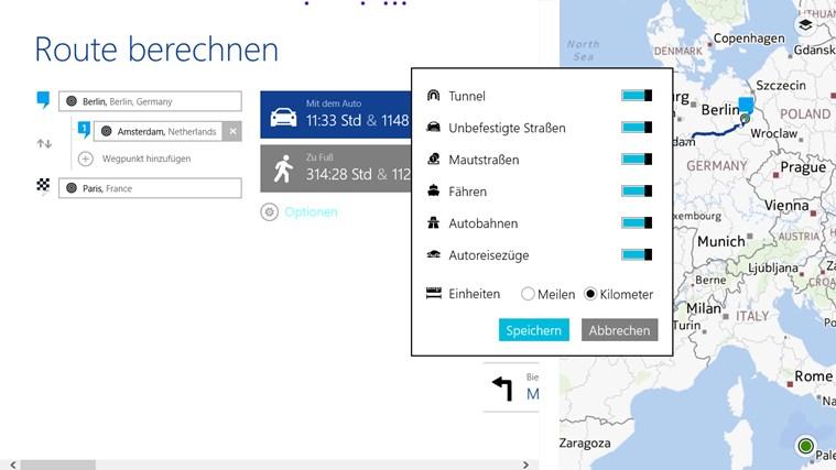 HERE Maps Screenshot 6