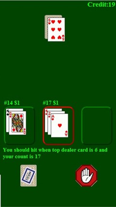 BlackJack (Free) screenshot 0