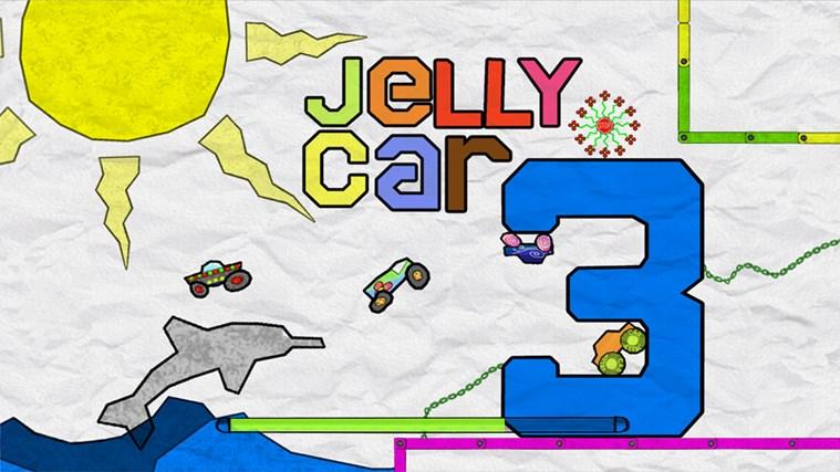 JellyCar 3 screen shot 0