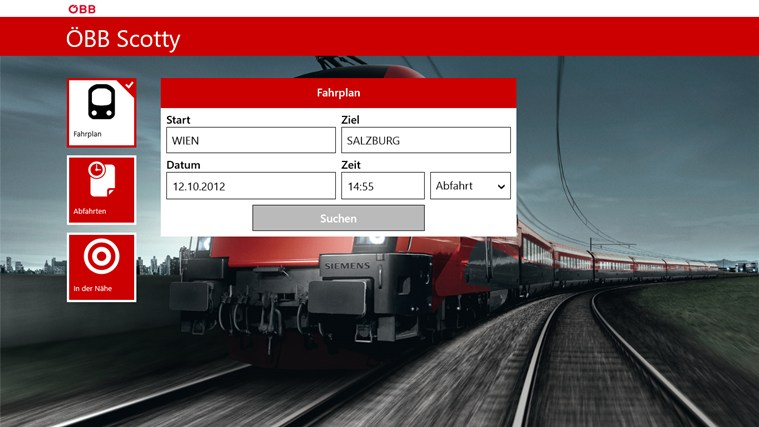 ÖBB Scotty Screenshot 0