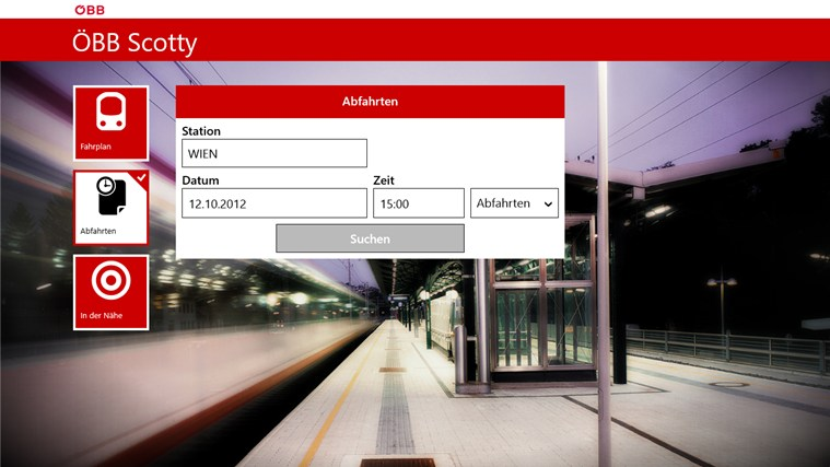 ÖBB Scotty Screenshot 2