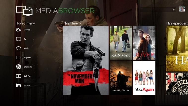 Media Browser screen shot 0