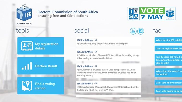 IEC South Africa screen shot 0