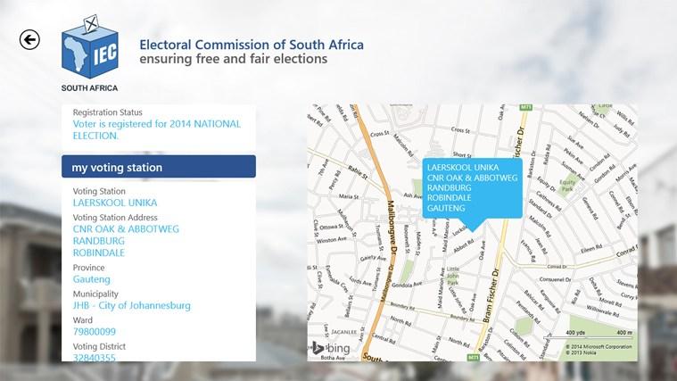 IEC South Africa screen shot 2