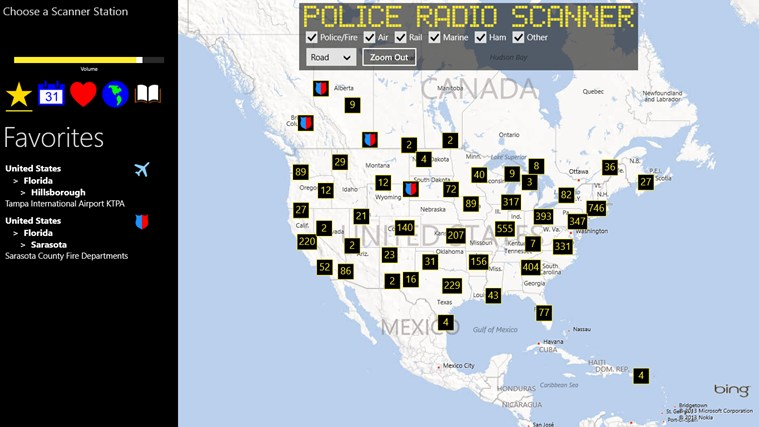 Police Radio Scanner screen shot 0