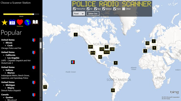 Police Radio Scanner screen shot 2