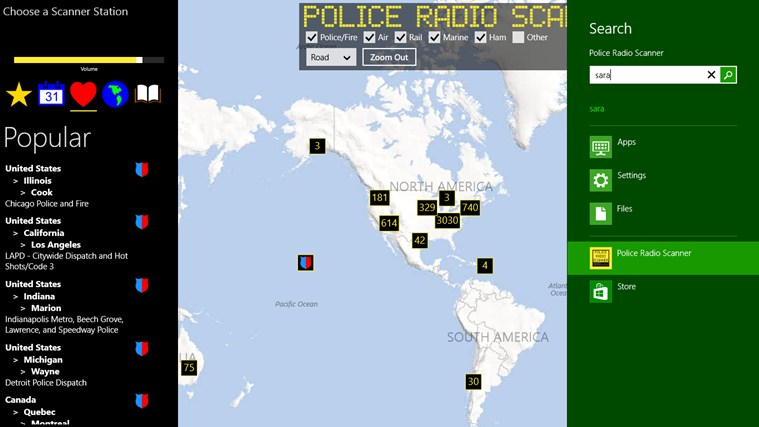 Police Radio Scanner screen shot 4