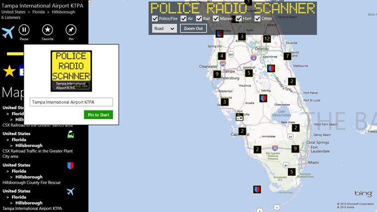 Police Radio Scanner screen shot 6