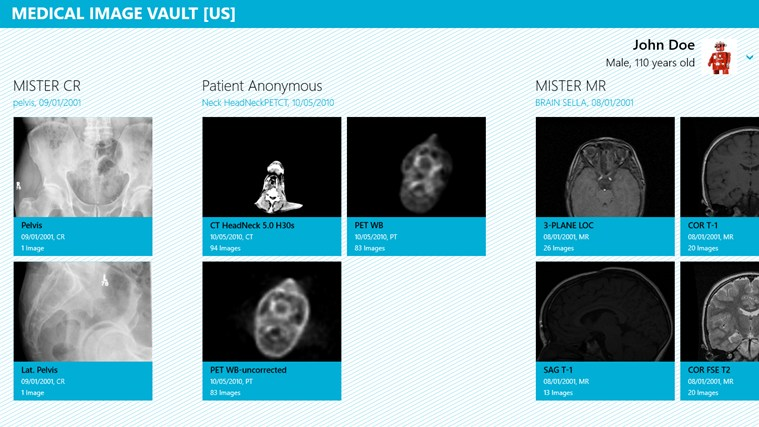 Medical Image Vault screen shot 0
