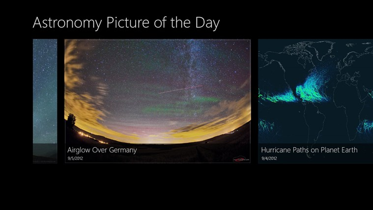 Astronomy Picture of the Day screen shot 0