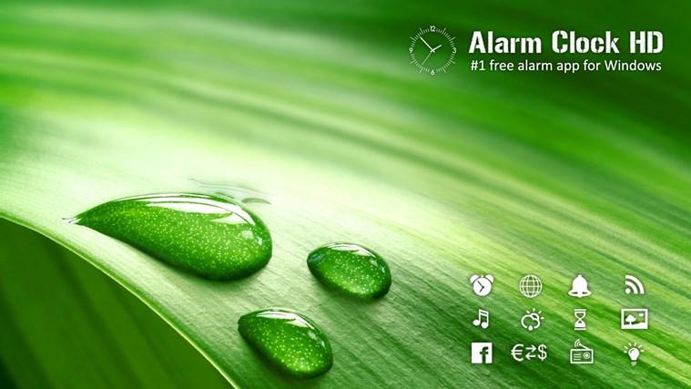 Alarm Clock HD screen shot 0