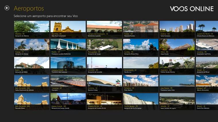 Infraero Voos Online captura de tela 2